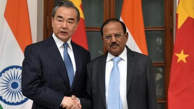 Special Representatives of India and China on the Boundary Question, NSA Ajit Doval and Chinese foreign minister Wang Yi, held the 22nd round of talks in December 2019(ANI)