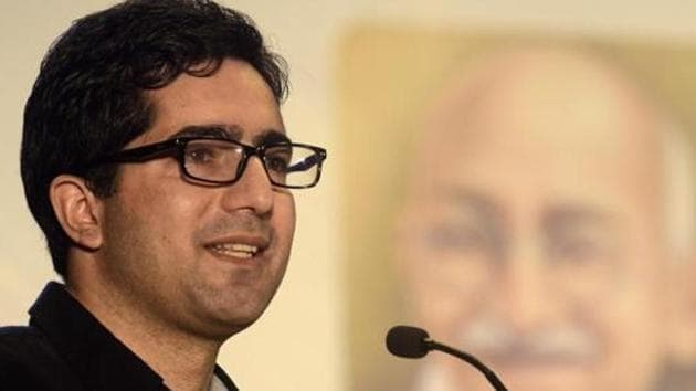 Shah Faesal was detained on August 14 a few days after the abrogation of Article 370 granting special status to J&K.(HT Photo/File)