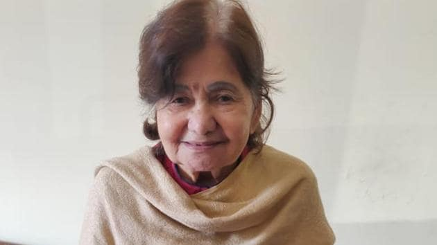 An upright reporter and a woman of strong beliefs, Rama Sharma was never afraid of speaking out her mind(HT Photo)