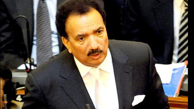 Rehman Malik, ex-minister with Pakistan govt,. has been accused by American blogger Cynthia Ritchie of rape.(HT Archive/AFP)