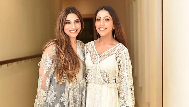 Fashion designers Sukriti Grover and Aakriti Grover