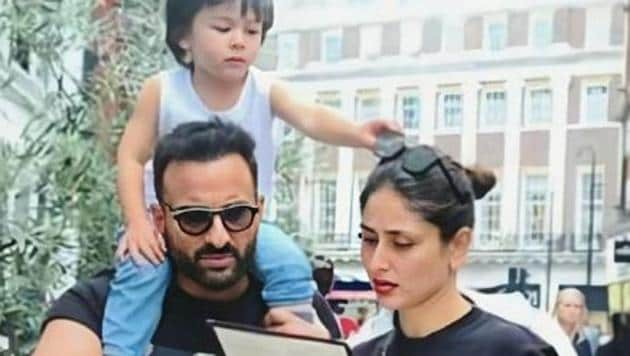 Kareena Kapoor, Saif Ali Khan and their son Taimur have been in lockdown at their home since March, like the rest of the country.
