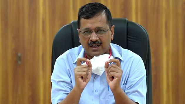 Delhi Chief Minister Arvind Kejriwal has been regularly holding press briefings on the Covid-19 situation in the national capital.(ANI Photo)