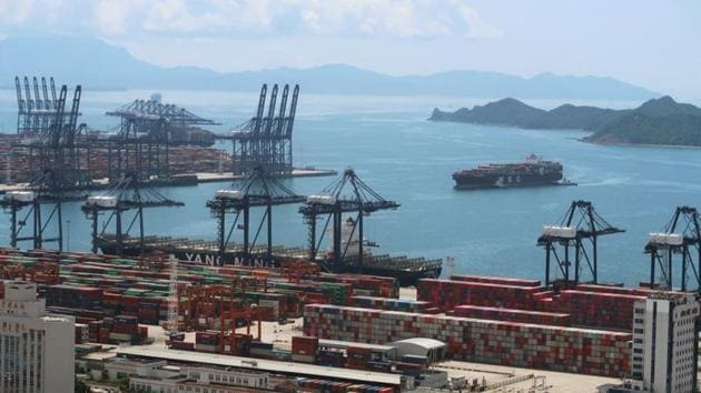 Overseas shipments in May fell 3.3% from a year earlier, after a surprising 3.5% gain in April, customs data showed on Sunday.(Reuters file photo. Representative image)