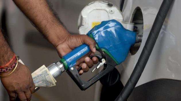 Diesel price were last revised on March 16.(Satyabrata Tripathy/HT Photo)