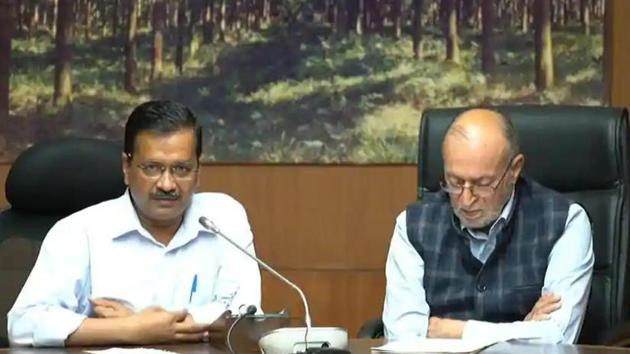 As complaints escalated on social media of the quality of treatment at Delhi's hospitals, chief minister Arvind Kejriwal declared on Sunday that all government and private hospitals in the city would only treat Delhi residents while the Central government hospitals will remain open to all. (Photo HT)