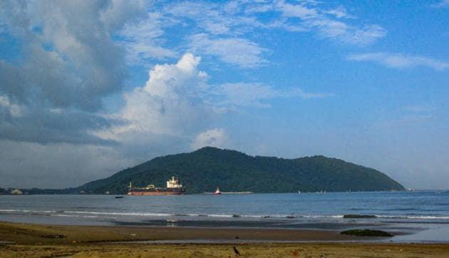 Karwar port expansion proposed site.(Gaurav Patil)