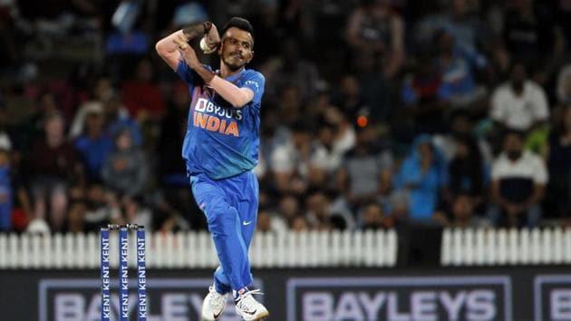 Hamilton: India's Yuzvendra Chahal in action(IANS)