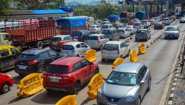 Besides office-goers, traders and shopkeepers are also back on roads.(PTI)