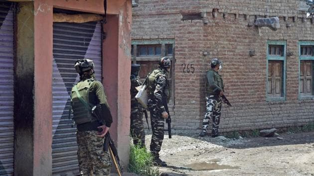 According to ANI, the bodies of the four terrorists killed in Pinjora have been recovered along with arms and ammunition.(ANI file photo. Representative image)