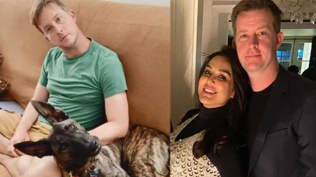 Preity Zinta has shared a hilarious video featuring her husband Gene Goodenough and their pet dog, Bruno.