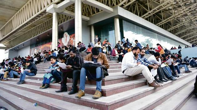 Joblessness is still far higher than what it was before the nationwide lockdown began on March 25.(HT File Photo)