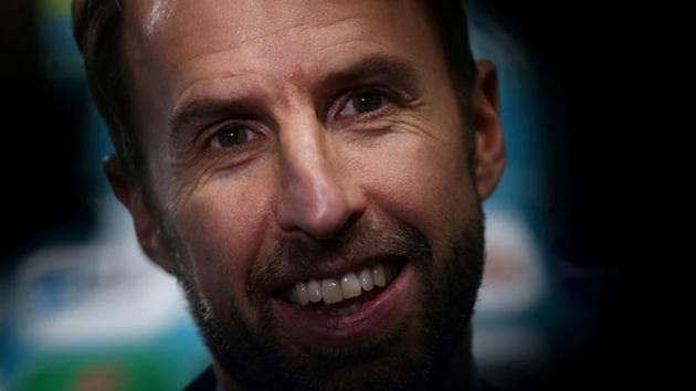 FILE PHOTO: Soccer Football - Euro 2020 Finals Draw - Romexpo, Bucharest, Romania - November 30, 2019 England manager Gareth Southgate after the draw REUTERS/Stoyan Nenov/File Photo(REUTERS)