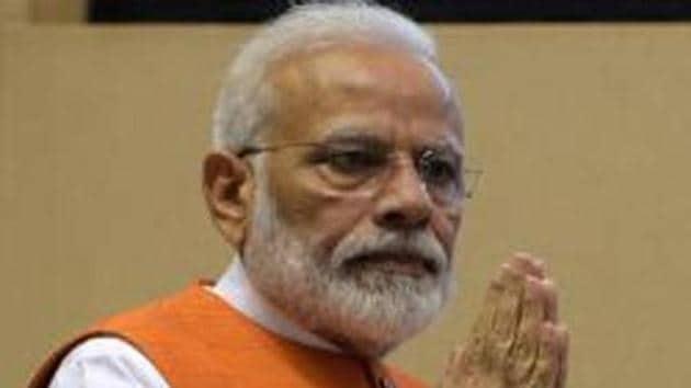 File photo: PM Modi(Mohd Zakir/HT PHOTO)