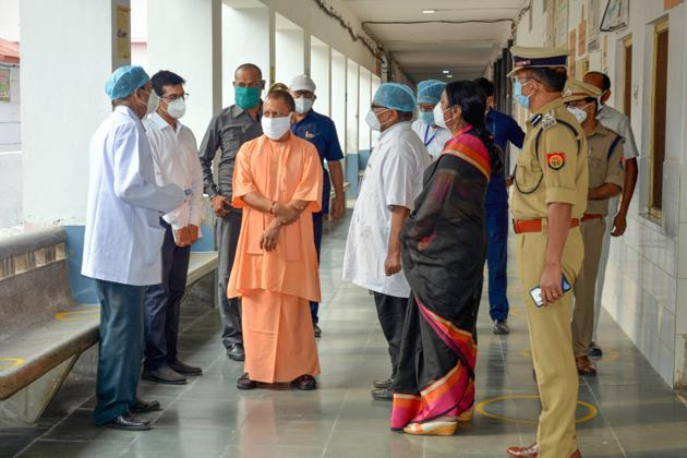 Yogi Adityanath asks for special emphasis on health services in 10  districts of UP   Hindustan Times
