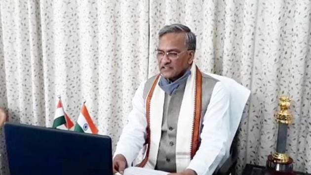 Uttarakhand chief minister Trivendra Singh Rawat gave approval for the CMP plan In a meeting of the Unified Metropolitan Transport Authority (UMTA) on June 11, 2020.(File Photo)
