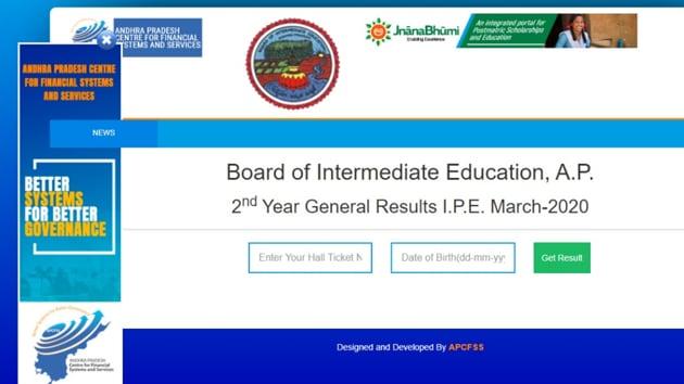 AP Inter Results 2020(bie.ap.gov.in)