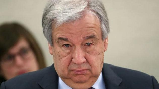 United Nations Secretary-General Antonio Guterres said that the UN premises will be re-opened for diplomats, staff and journalists in four phases.(Reuters file photo)