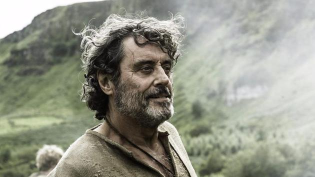 Ian McShane in a still from Game of Thrones.