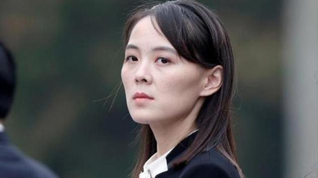 File photo: Kim Yo Jong, sister of North Korea's leader Kim Jong Un.(Reuters)