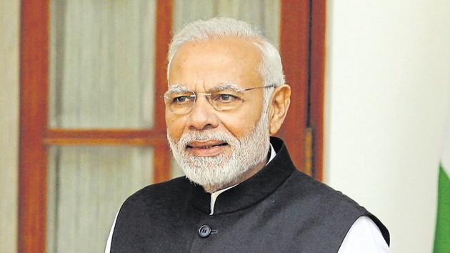 This will be the PM Modi's sixth round of consultation with the chief ministers, the last being on May 11.(AP)