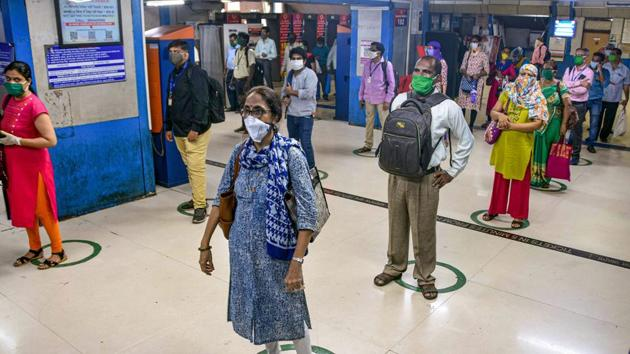 Mumbai accounted for more than 50% of new Covid cases reported in Maharashtra on Tuesday.(PTI Photo)