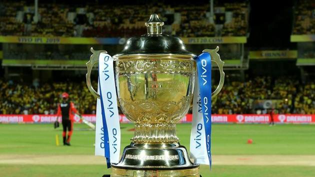 Indian Premier League Trophy.(IPL)