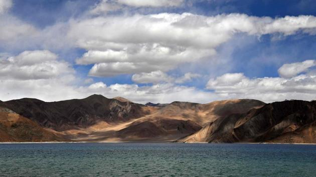Pangong Lake, Leh, Ladakh. India will have to reconsider its entire geopolitical posture. Engagement with China is essential and should continue. But there can be no appeasement. Policymakers need to go back to the drawing board and examine ways to build leverage against Beijing(AFP)