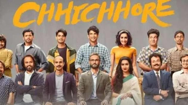 Shraddha and Sushant worked together in Chhichhore.