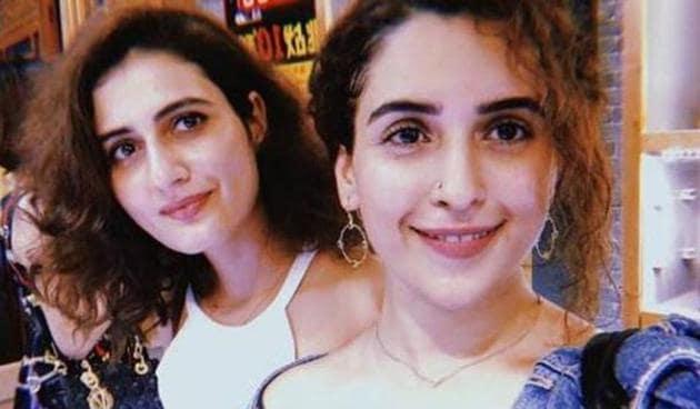 Fatima Sana Shaikh and Sanya Malhotra featured together in Dangal.