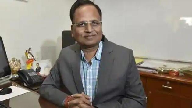 Delhi Heath Minister Satyendra Jain(File photo)