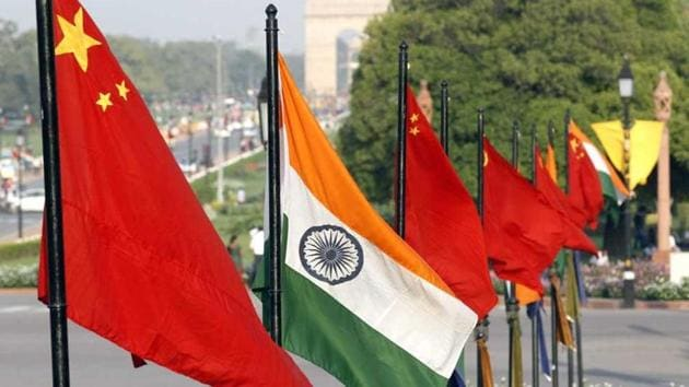 China is India's largest trading partner, but the latter runs a large trade deficit. This means India buys far more goods from China, in value terms, than it sells to that country.(Arvind Yadav/HT File Photo)
