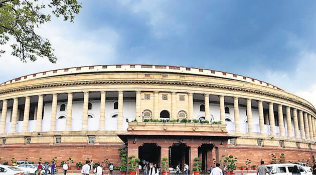 Before the crisis, the BJP-led government had 39 lawmakers in the 60-member House. The Opposition had 21. To win the Rajya Sabha seat, a candidate requires 26 votes.(Raj K Raj/HT PHOTO)
