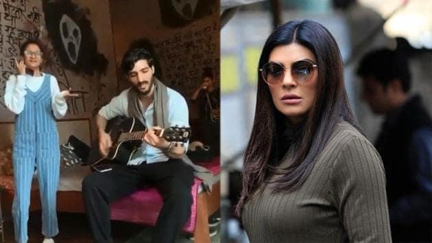 Sushmita Sen has shared a video featuring her boyfriend Rohman Shawl.