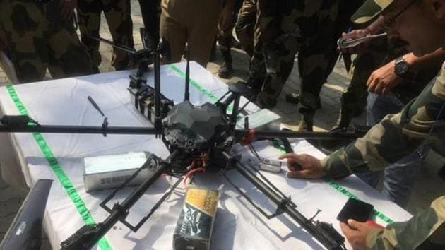 Pak rangers and Pakistani Army use such drones to see deployment of Indian forces and gaps to push terrorists into India.(ANI)