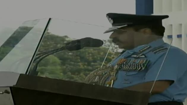 Air Chief Marshal RKS Bhadauria made the comments during the Combined Graduation Parade (CGP) at the Air Force Academy in Hyderabad.(ANI Twitter)