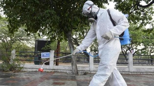 On Friday, in a major spike in coronavirus cases, Telangana saw 499 new Covid-19 positive patients and three deaths being reported, taking the infection count in the state to 6,526.(AFP PHOTO.)