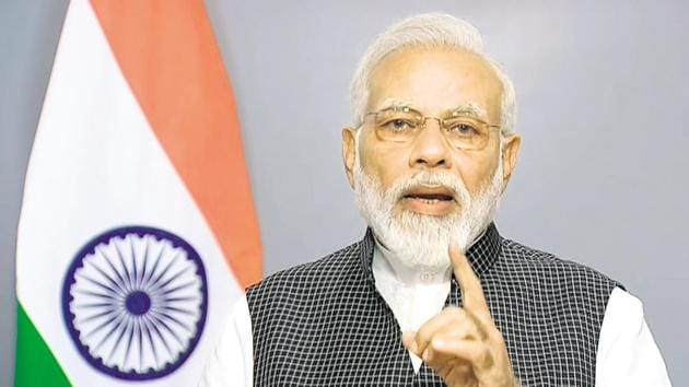 The sudden removal of the PM Modi's speech and Indian government's posts from its official accounts on Chinese social media comes in the backdrop of the violent face-off between Indian and Chinese troops in eastern Ladakh's Galwan Valley.(Photo: ANI)