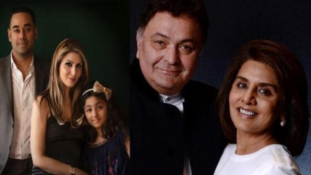 Riddhima Kapoor has shared a Father's Day post for her father Rishi Kapoor.