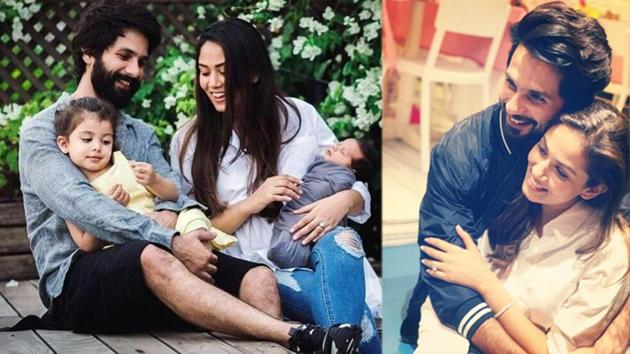 Mira Rajput shared a Father's Day post for Shahid Kapoor as well as her father.