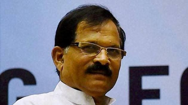 MoS for AYUSH (Independent Charge) Shripad Yesso Naik said the International Yoga Day function, which was scheduled to be held in Leh on Sunday, was cancelled due to the Covid-19 pandemic, which has made social distancing a necessity.(PTI)