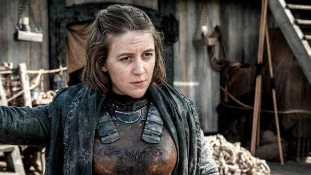 Gemma Whelan played Yara Greyjoy on Game of Thrones.