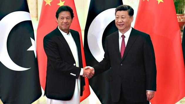 China has sought to contain India with its patronage of Pakistan since the 1950s(AFP)