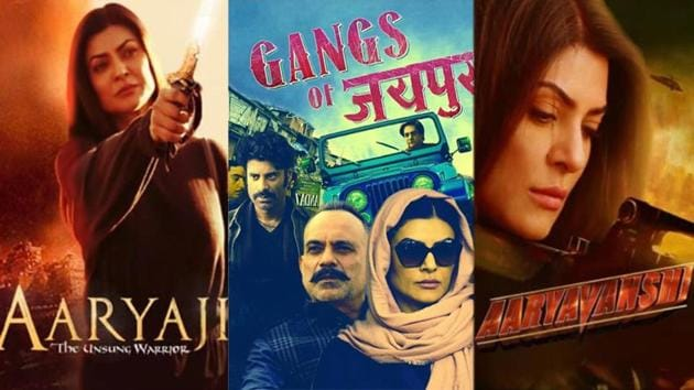 Sushmita Sen has shared some interesting fan-made posters on Instagram.
