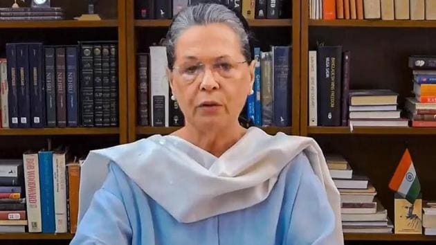During the meet, Sonia Gandhi reiterated Congress party's support to the government in its efforts to deal with the situation.(PTI)
