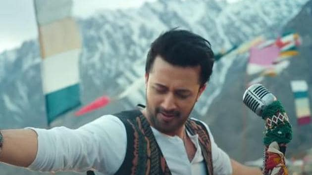 T-Series has removed Atif Aslam's song from its YouTube channel.