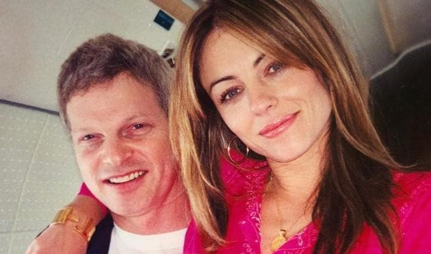 Elizabeth Hurley lost her ex Steve Bing on Monday.