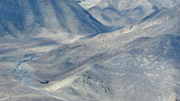Indian fighter jets roared over a flashpoint Himalayan region on June 24 as part of a show of strength.(AFP)