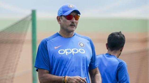 File image of coach Ravi Shastri.(PTI)