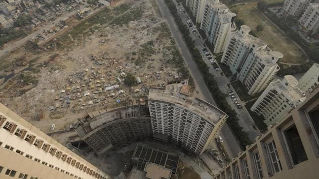 Echoing a similar view, Gurugram-based developers and consultants said sales were virtually non-existent and that they were finding it difficult to manage even client visits.(Burhaan Kinu/HT file photo. Representative image)
